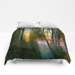 Trippy Trees Comforters