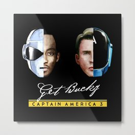Up All Night to Get Bucky Metal Print