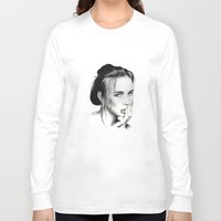 blush Long Sleeve T-shirts featuring Blush by Stephanie Recking