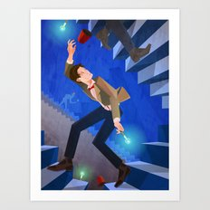 The Eleventh Who? Art Print