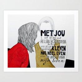 Kleven Art Print