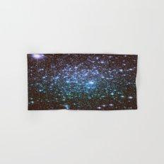 Winter Blues Galaxy Stars Hand & Bath Towel