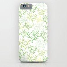 Green Corals Slim Case iPhone 6s