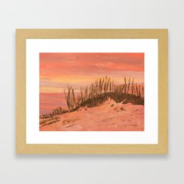 Clearwater Sand Dunes Framed Art Print