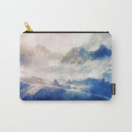 Mountain Winter Dream Carry-All Pouch