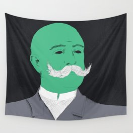 Stache man Wall Tapestry