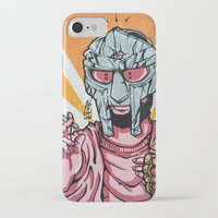 mf doom iPhone & iPod Cases featuring PINK PROPHET: DOOM by Rob Regis | #ARTLORDXXX