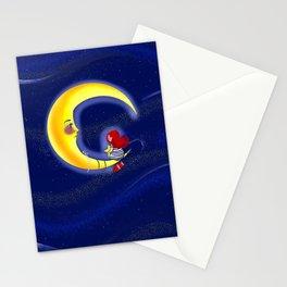 Star thief Stationery Cards