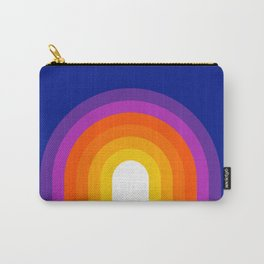 Classic Blue Rainbow Carry-All Pouch