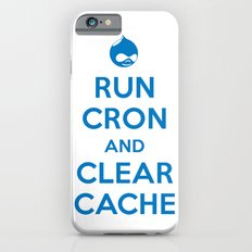 Run Cron and Clear Cache Slim Case iPhone 6s
