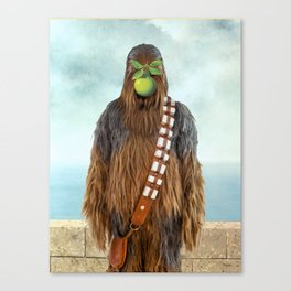 Chewbacca in The Son of A Man Canvas Print