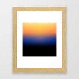 Sunset Gradient 6 Framed Art Print