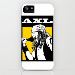 Axl iPhone Case