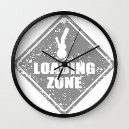 Bong Loading Zone Wall Clock