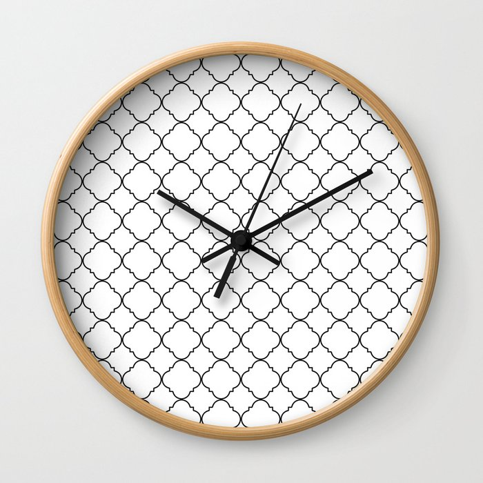 Minimalist Moroccan Wall Clock