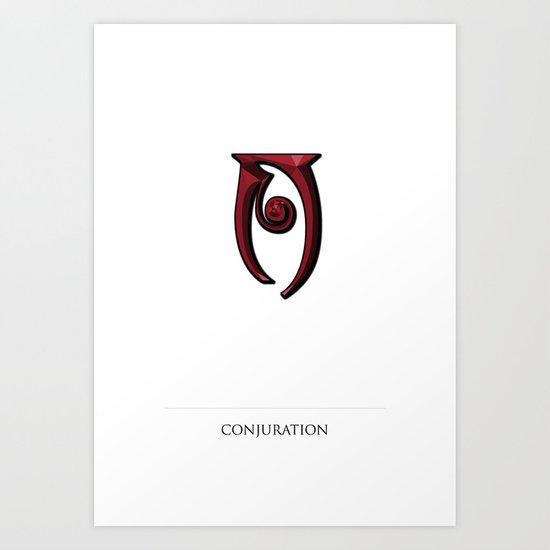 conjuration Art Print