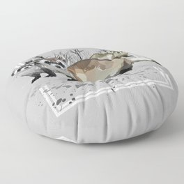 Ferrets Floor Pillow