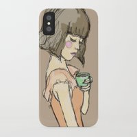 gemma iPhone & iPod Cases featuring Gemma by Gemma Teese