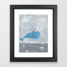 up and up Framed Art Print