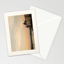 Sun sets over Budapest Stationery Cards