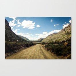 Adventure's highway Canvas Print