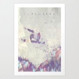 Explorers IV Art Print