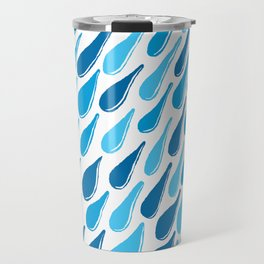 monochromatic blue aqua turquoise navy teal sapphire Travel Mug