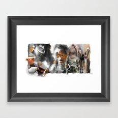 Everyday People Framed Art Print
