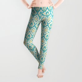 Peacock pattern Leggings