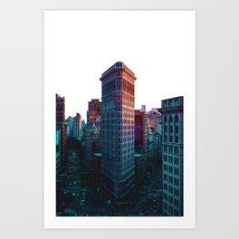 Flatiron Building New York City Art Print