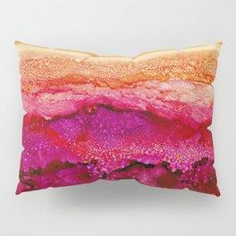 Raspberry Hills, Tangerine Sky Pillow Sham
