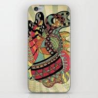 carousel iPhone & iPod Skins featuring Carousel by Tuky Waingan