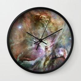 Orion Nebula 2 Wall Clock