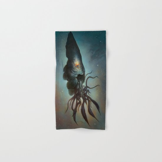 Yawanpok the Void Menace Hand & Bath Towel