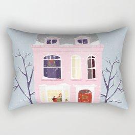 Xmas house Rectangular Pillow