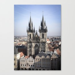 Our Lady Before Tyn Canvas Print