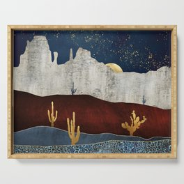 Moonlit Desert Serving Tray