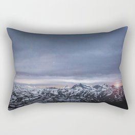 Norwegian Sunset Rectangular Pillow