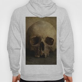 Male skull in retro style Hoody
