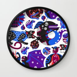Animales Interiores  Wall Clock