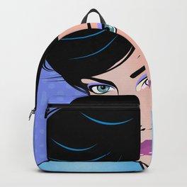 Beautiful Pop Art Woman Rosie Backpack