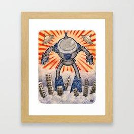 Hott Bott Framed Art Print