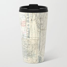 French Paris Letters Travel Mug