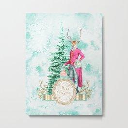 Merry Christmas my deer Metal Print