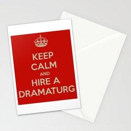 Hire a Dramaturg Stationery Cards