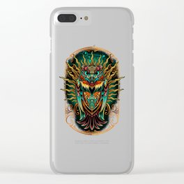 S'Owl Keeper Clear iPhone Case