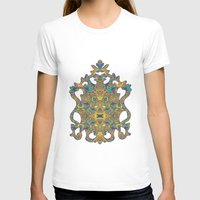 arabic T-shirts featuring Arabic Marigold by GEETIKAGULIA