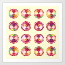 Dots of Dots Art Print