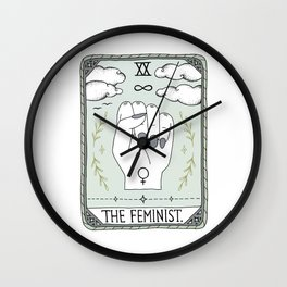 The Feminist Wall Clock