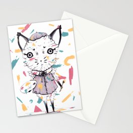 Adding Paint Stationery Cards